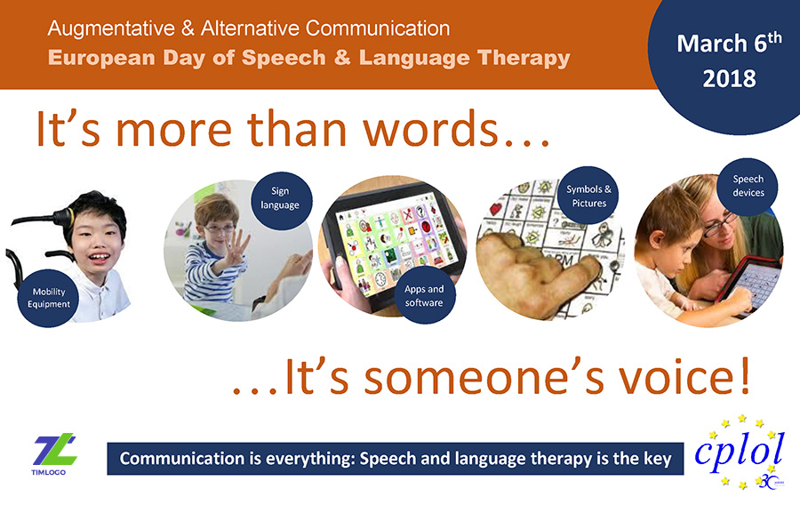 European Day of Speech & Language Therapy